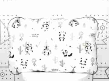 Poduszka panda 45 x 60 cm dla dziecka nuvaart poduszka