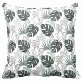 Poduszka dekoracyjna kwiaty tropic 6521 poduszki artmini liście