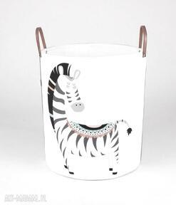 Ogromny pojemnik z zebrą pokoik dziecka gucialoveskids pojemnik