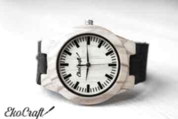 Damski drewniany zegarek waxwing zegarki ekocraft zegarek