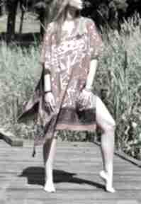 Etno sukienka, narzutka sukienki ququ design tunika, narzutka