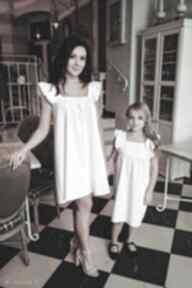 "Latori - sukienka damska z kolekcji ""mama i córka"" dla mamy lm43"