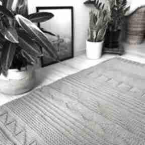 Patchworkowy dywan ze sznurka wool and dog dywan, sznurek
