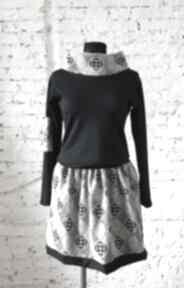 Milena klasyk do pracy sukienki ququ design midi, elegancka