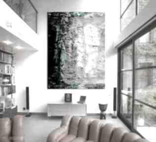 Duży nowoczesny obraz do salonu dekoracje art and texture