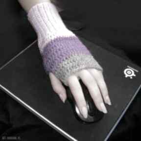 Rękawiczka, ocieplacz, mitenka do pracy przy komputerze lewa