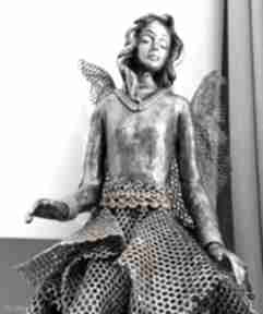 Anioł baletnica dekoracje nor art anioł-stróż, figura anioła