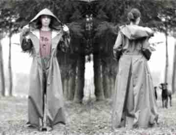Kombinezon-płaszcz sowa płaszcze monika jaworska wodoodporny