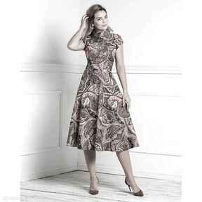 Sukienka sari total midi ginerwa sukienki livia clue midi