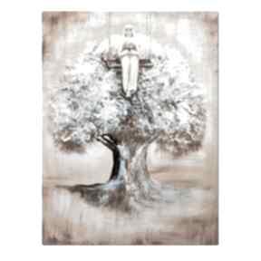 Anioł emanuel, obraz ręcznie malowany aleksandrab obraz