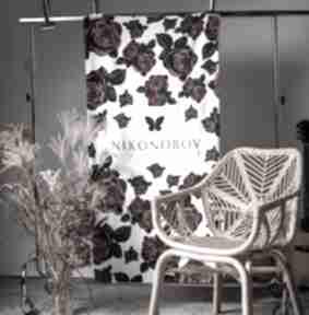 Ręcznik królowa róża dom milita nikonorov ręcznik, miękki,