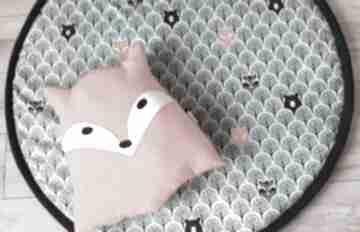 Mata do zabawy leśne zwierzątka pokoik dziecka nunli podłogowa