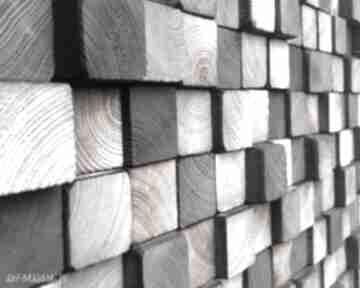 Mozaika dla pani moniki dekoracje drewniana sciana mozaika