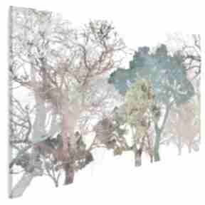Obraz na płótnie - drzewa kolory 120x80 cm 18101 vaku dsgn