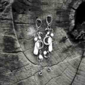 Magdalena markowicz perła, perły, kolczyki z-perłami, z-perłą,