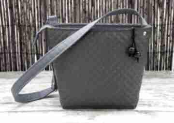 Pikowana torebka na ramię happyart pikowana, torba, sowy
