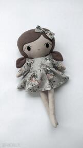 Lalka przytulanka basia, 45 cm lalki patchworkmoda lala, lalka