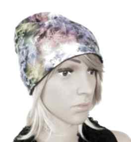 Melat35 designerska czapka jesienna bawełniana czapki mela art