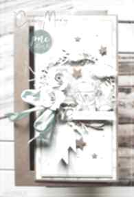 Kartka dla dziecka #206 scrapbooking kartki papierowe czary mary