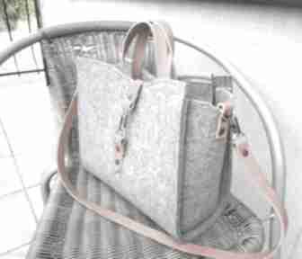 Torebka catoolabel #210a na ramię catoo accessories skóra