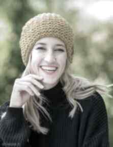 Neverland pikantna musztarda czapki brain inside czapka, zimowa