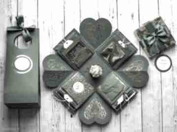 scrapbooking kartki Exploding box warstwowy na każdą okazję -