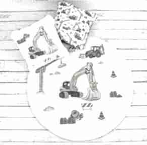 Plac budowy welurowa mata do zabawy dla dziecka nuvaart zabawy