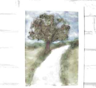 "Droga do domu obraz z kolekcji ""die wunderschöne natur"""