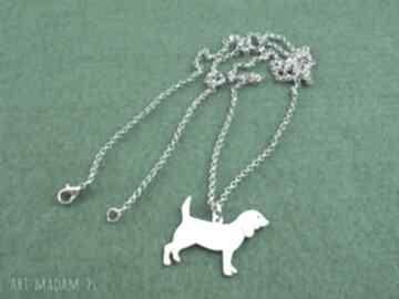 Naszyjnik beagle pies nr 10 naszyjniki frrodesign naszyjnik