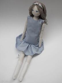 lalkiszmacianka przytulanka bawełniana tilda wełna lala