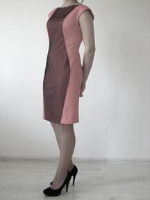 5 - sukienka ołówkowa sukienki lalu sukienki, sukienka, dzianina
