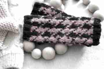 Bezpalczatki #1 rękawiczki mondu mitenki, pepitka, bezpalczatki