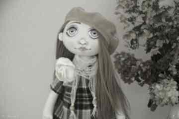 Lalka kolekcjonerska ręcznie szyta lalki margi studio szyta