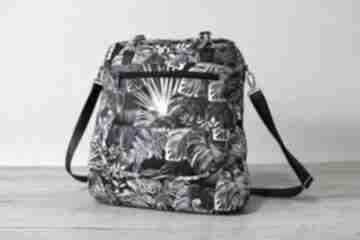 Pomysł na święta prezent: Plecak torba listonoszka - monstery