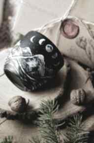 Piękny kubek z plenerem gór kubki pracownia szafran wyjątkowy