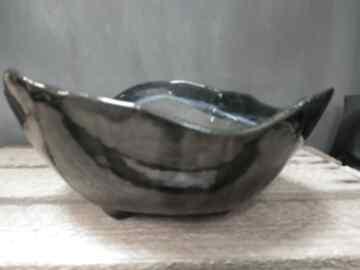 Dekoracje gabriela kas ceramika rękodzieło, półmisek
