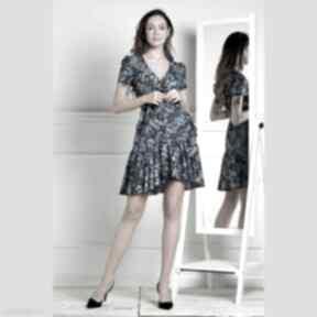 sukienkisukienka-mini sukienka-z-wiązaniem mini