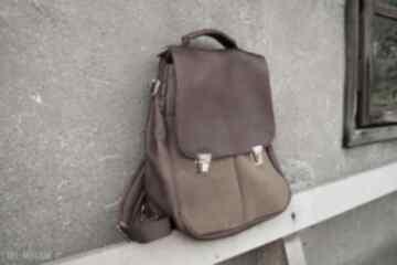 Lilith chimera plecak torba kasztan rudy czajkaczajka plecak