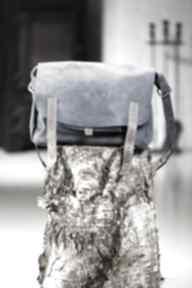 Teczka listonoszka skórzana torebka navahoclothing torba