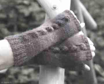 Mitenki jagodowe rękawiczki jaga11 wygodne, na rower, miękkie,