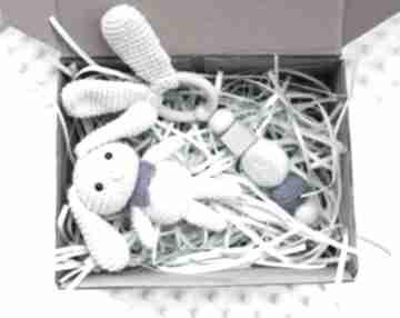 Zestaw gryzak maskotka zabawki artyha kids gryzak, grzechotka