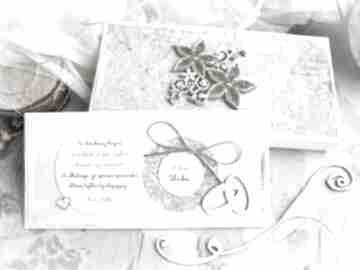 Kartka ślubna w pudełeczku pełnym personalizowana treść