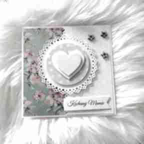Kartka z okazji dnia matki scrapbooking kartki po godzinach