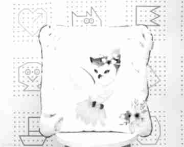 Poduszka sówki boho 46x46 dla dziecka nuvaart jasiek, poduszka