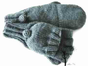 Bezpalczatki z klapką #3 rękawiczki mondu bezpalczatki, klapka,