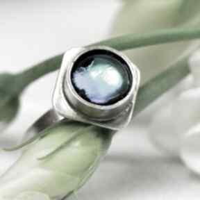Artseko Srebrny pierścionek światło w głębinie