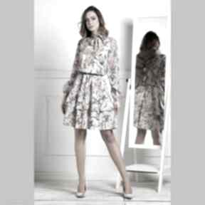 Sukienka sorina mini emanuella sukienki livia clue z-wiązaniem