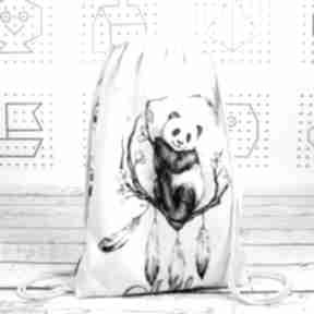 Worek z imieniem panda boho dla dziecka nuvaart plecak, worek
