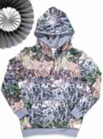 Klocki bluza kangurka z kapturem 122 -152 tree house z-kapturem