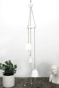 Ceramiczny łapacz wiatru, snu - hygge dekoracje fingersart